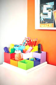 desk ideas small stationary storage tidy and childrens with