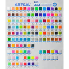 The Complete Artkal S 5mm Color Chart So Many Nice Color