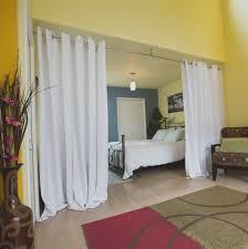 Wohnzimmer Und Schlafzimmer Vorhang Raumteiler Innere 2019