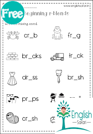 Get all these free phonics worksheets to help students become more comfortable with reading. R Blends Worksheets Br Cr Dr Fr Gr Pr Tr Www Kaash Us Englishsafari