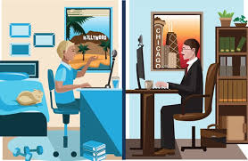 Telecommute Job Difference Between Telecommuting And Working From Home Eztalks
