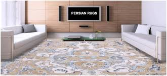 how to decorate your home with persian rugs