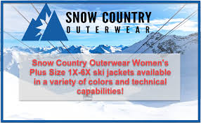 Snow Country Outerwear Womens Plus Size Hail Down