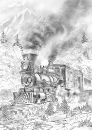 Trestle and suspension bridges are two types of bridges that carry trains over these obstacles. Pin On Coloring Pages