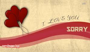 sorry with i love you images