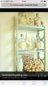 Seaside shelves and decor