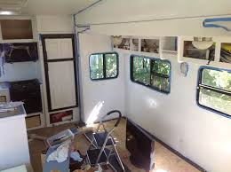Re Laminate Kitchen Doors Renovating Our 5th Wheel Camper A Diy Follow The High Line Home