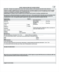 Sample Incident Report Template Download Free Sample Incident Report