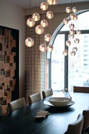 bubble light chandelier bubble light chandelier dining room contemporary with none bubble ball chandelier light fixture
