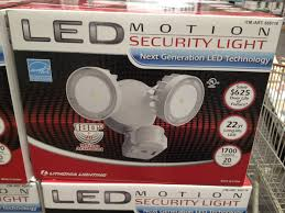 Led Security Light Costco Costco Item Number 658718 Acuity Brands Twin Head Led