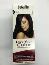 Cosamo Love Your Color No Ammonia No Peroxide Hair Color