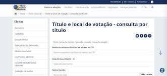Eleições 2020: como consultar o local de votação