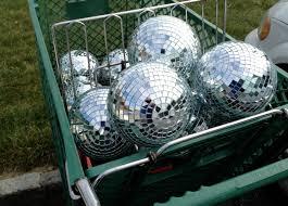 Mini Disco Ball Decorations I'm like Gollum But much taller Victoria Elizabeth Barnes 72