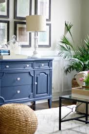 living room dresser. Crystal Handle Wide Storage Drawers Classic Design Living Room Dresser Strong Dovetail Large Square Blue Varnished Wooden Case G
