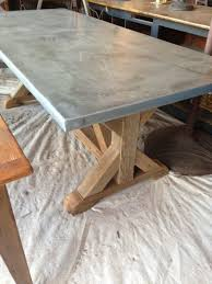best great zinc top outdoor table best ideas about zinc table on zinc countertops with zinc countertops