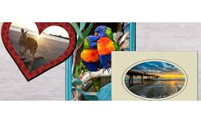 add a photo frame effect