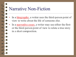 non fiction a unit of truth ppt video online 3 narrative