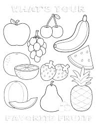Printable Fruit And Vegetable Storage Chart Printable Fruits And Vegetables Coloring Pages At