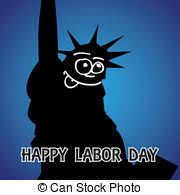 labor day theme happy labor day us flag illustration vector illustration