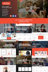 Business Homepage Design Silla Responsive Html5 Business Website Template
