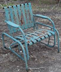 vintage metal furniture. vintage metal chairs and retro patio tables gliders furniture a