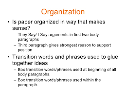 persuasive essay peer revision