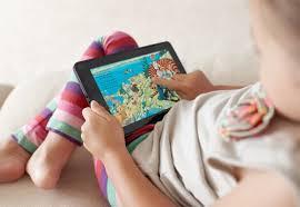 Image result for تبلت و کودکان
