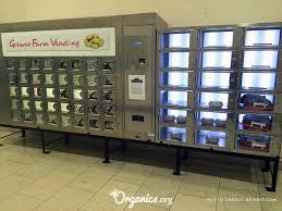 Organic Food Vending Machines Magnificent These Vending Machines Serve Fresh Veggies Instead Of Junk Food