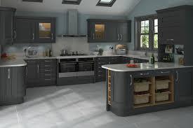 shaker clifton paint grade graphite absolute kitchen granite