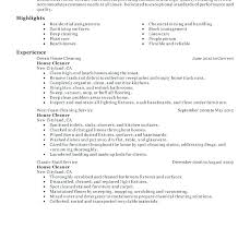 Office Cleaning Resumes Cleaner Resume Sample Cv Example Stunning Cleaner Resume