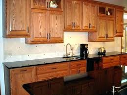 wall oven cabinets single wall oven cabinet black metal microwave natural cherry kitchen cabinets beige granite