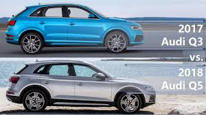 2018 audi x3. exellent 2018 2017 audi q3 vs 2018 q5 technical comparison in audi x3