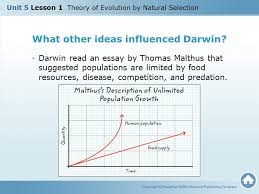 unit lesson theory of evolution by natural selection ppt  10 what