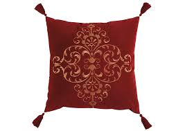 Thomas Wholesale Furniture New Albany MS Amiela Scarlet Pillow