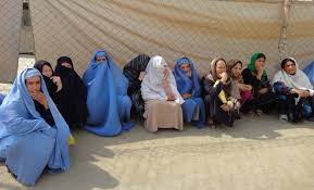 life as an afghan w trust in education burqa women fence