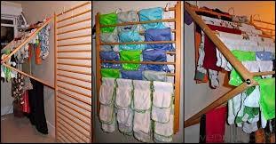 diy wall mounted laundry drying racks