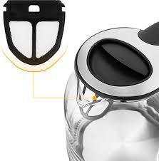 <b>Чайник электрический Kitfort KT-654-6</b>, чёрный купить в интернет ...