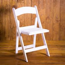 white garden chair al