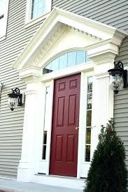 exterior door trim kit home depot garage vinyl