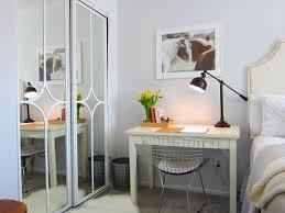 Mirror Closet Door Makeover  T