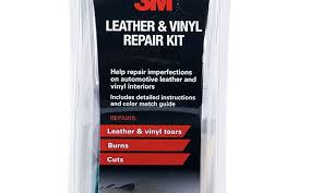 pictures of use the 3m leather and vinyl repair kit