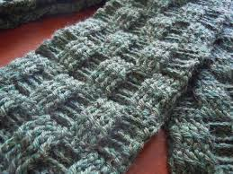 Mens Scarf Crochet Pattern Delectable Illuminate Crochet Men's Crochet And Basketweave Scarf