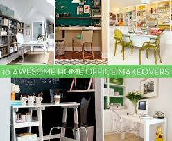 Roundup: 10 Awesome Home Office Makeovers
