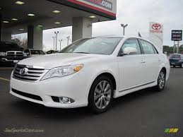 2011 Toyota Avalon Limited in Blizzard White Pearl - 404114 | Jax ...