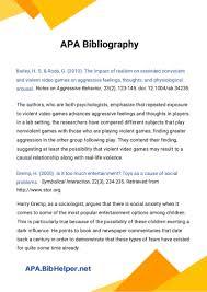 023 Annotated Bibliography Template Apa Ideas Sample Thumbnail