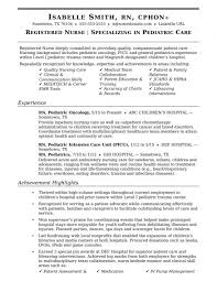 Nurse Educator Resume Examples Sample Nurse Resume Enrolled Australia Educator Example Nursing