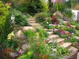 garden landscape. Architecture, Rock Garden Design For Backyard Ideas Home Gallery Listed In Stunning Landscape Your Inspiration