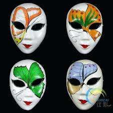 Mask Decorating Ideas Mask Design Ideas Blank White Women Masquerade Masks Paper Pulp 17