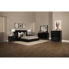 Amazing Dimora Bedroom Set 7 Piece Queen Upholstered Black King ...