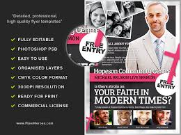 Modern Church Flyer Template Flyerheroes